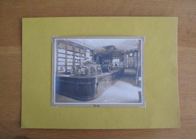 interior da loja antiga