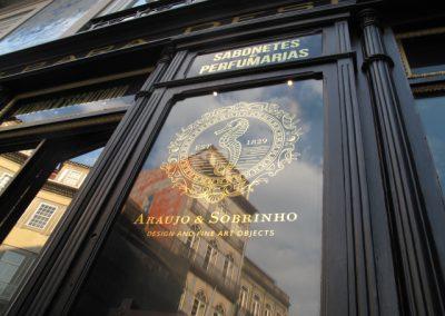 vitrine da loja